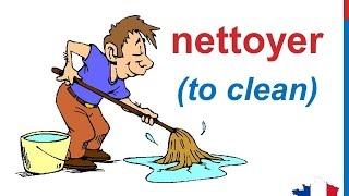 French Lesson 91 - Household chores House cleaning Les tâches ménagères Tareas de la casa Quehaceres