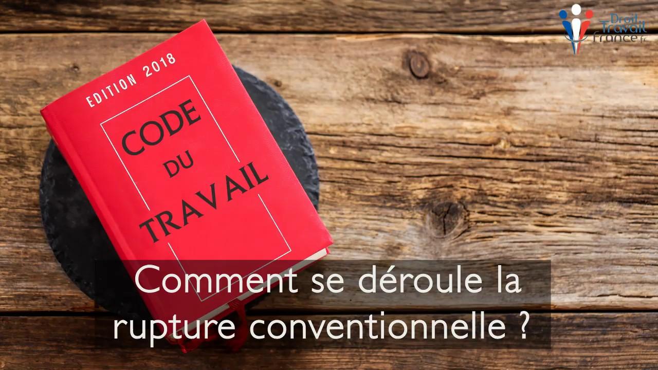 Rupture Conventionnelle Du Contrat De Travail Procedure Avantages