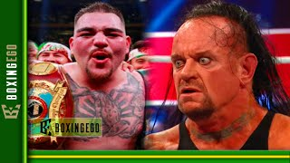 """AJ SAYS ANDY RUIZ IS NOW """"DIGGING HIS OWN GRAVE!"""" SERIOUS WARNING TO CHAMPION RUIZ (UNPACKED!)"""