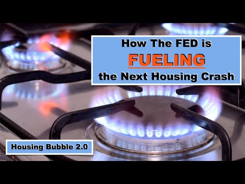 Housing Bubble 2.0 - How The FED Is FUELING The Next Housing Crash - Mortgage Delinquencies Up 450%