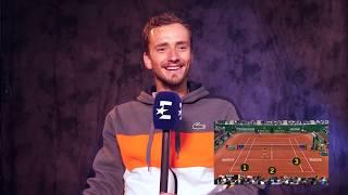 «Нисикори обманул меня и Надаля». Медведев в роли предсказателя действий теннисистов