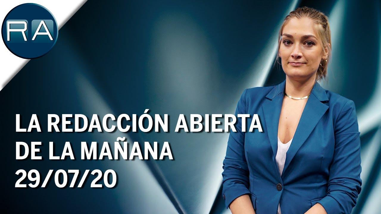 La Redacción Abierta de la mañana | 29-07-2020-Doctora Natalia Prego