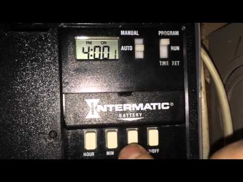how to set hager eh011 timer