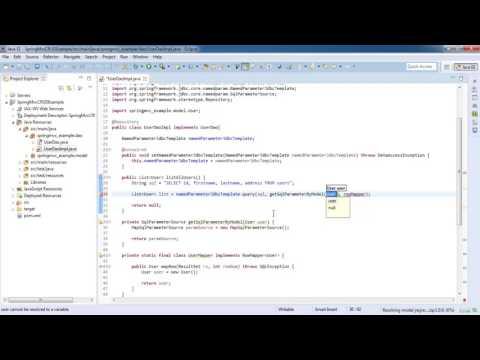 Spring 4 MVC CRUD using JDBCTemplate with mysql - Spring MVC Tutorial for Beginners