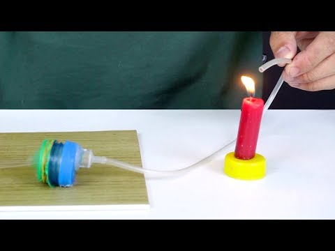 How To Make a Mini Air Pump using DC Motor