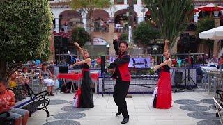Испанский танец Фламенко видео, Spanish flamenco dance