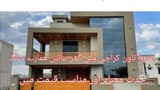 Bahria Town Karachi Construction Services