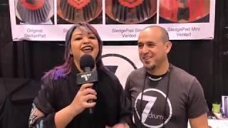 7drums Custom Drums at NAMM 18 on Drum Talk TV