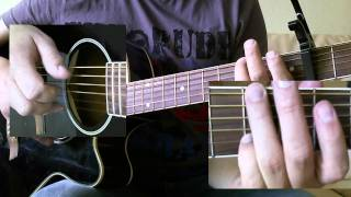 Andreas Bourani - Alles nur in meinem Kopf Tutorial - How to Play - Guitar Cover