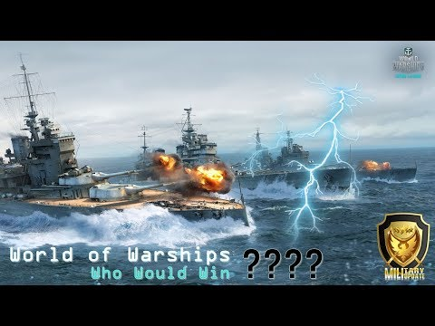 World of Warships  : Who Would Win || war never end - EP :  : How To Use a Carrier & Battleship