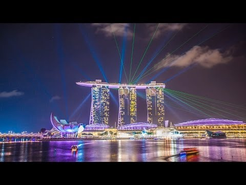 Three Days In Singapore- (4K Timelapse)