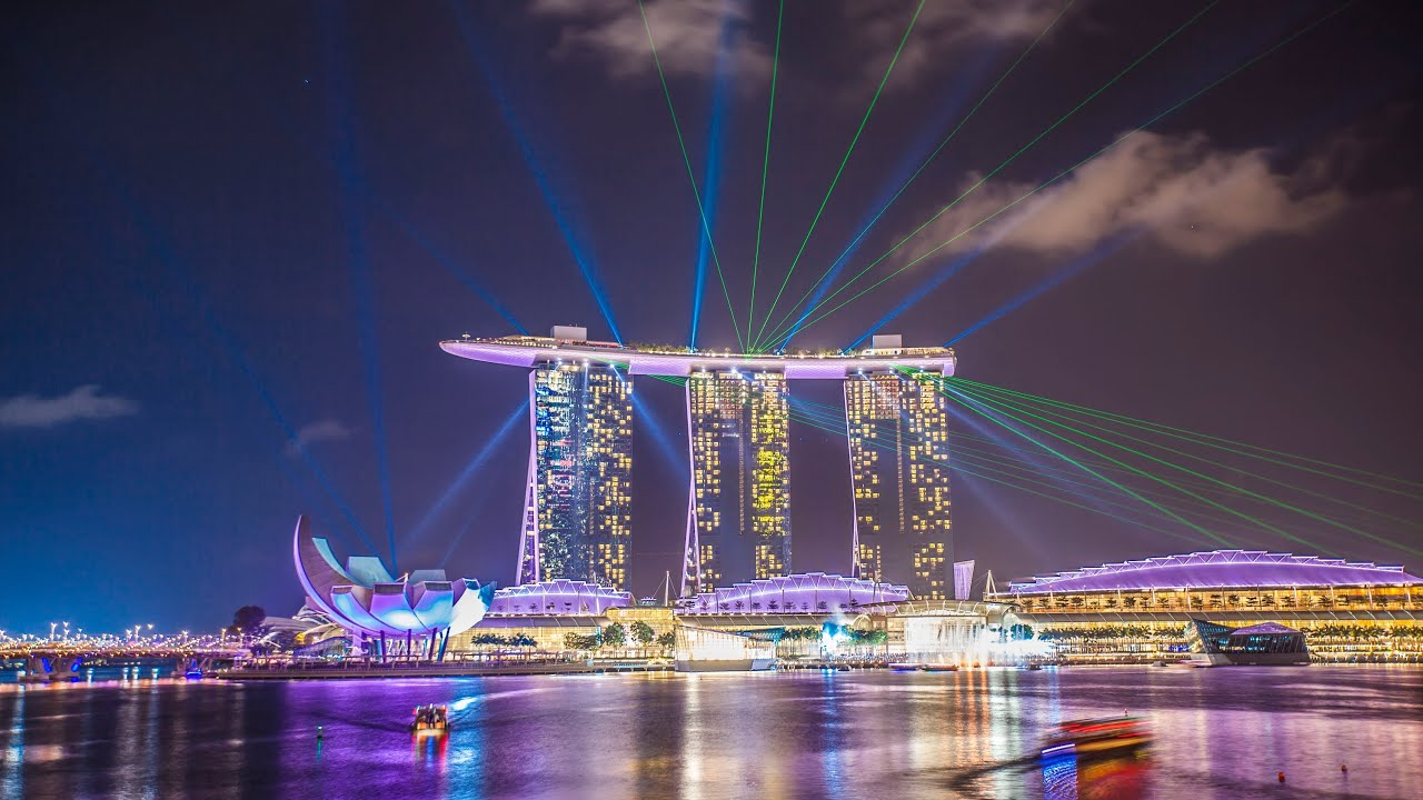 three days in singapore 4k timelapse youtube. Black Bedroom Furniture Sets. Home Design Ideas