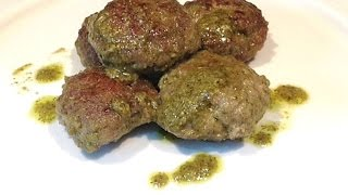 How To Make Tasty Meatballs With Pesto - DIY  Tutorial - Guidecentral