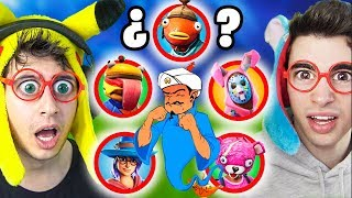 You can Akinator AFlead these Fortnite Battle Royale SKINS!?? #3 (WHO GUESS CHALLENGE)