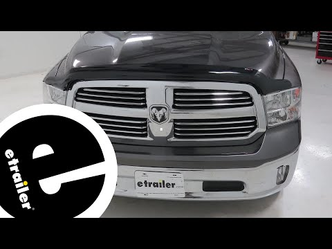 Etrailer | Weather Tech Easy-On Stone And Bug Shield Deflector Review