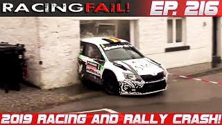 Racing and Rally Crash Compilation 2019 Week 216