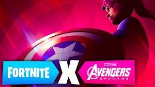 *NEW* AVENGERS ENDGAME SKINS + GAMEMODE in FORTNITE! (New Teaser by Fortnite)