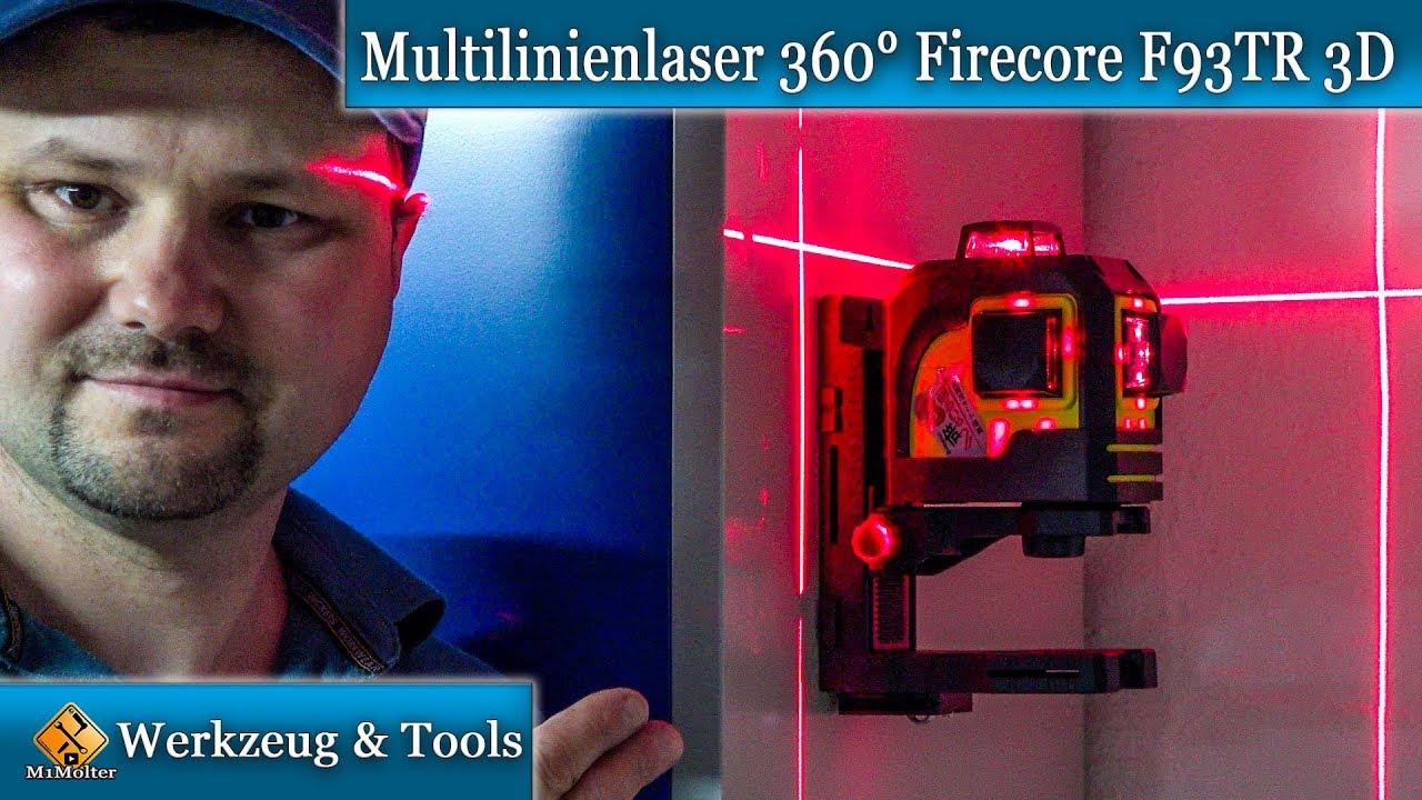 12 Line Laser Level Linienlaser Kreuzlinienlaser Kreuzlaser 360° Rotationslaser