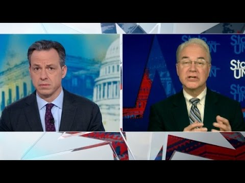 Tom Price defends health care bill (full interview)