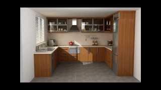 Mutfak Dolapları Modelleri 2013
