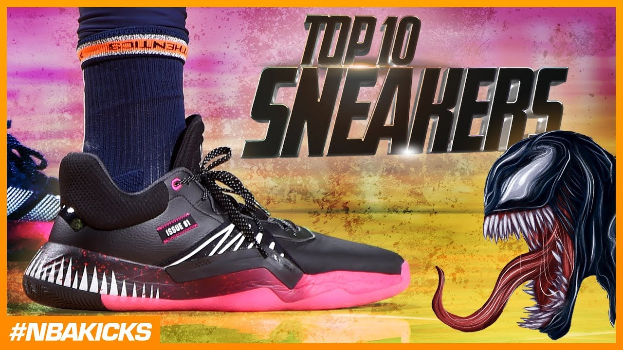 40b3f316ab8d Top 10 Sneakers in the NBA Playoffs  NBAKicks - Week 26 - YouTube