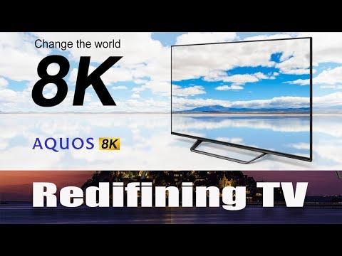 Sharp 8K TV | Sharp Aquos 8K Resolution | Android TV | 5G 8K TV | Sept 2019