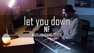 NF - Let You Down | Piano Cover + Sheets