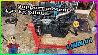 🛠 Montage🛠 du Support moteur 450 kg pliable 👍