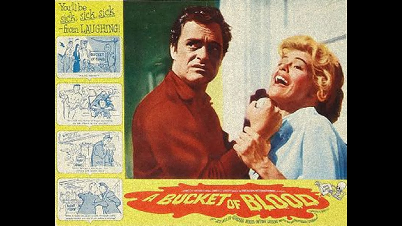 a bucket of blood 1959 full movie classic retro horror youtube. Black Bedroom Furniture Sets. Home Design Ideas