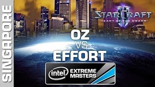 EffOrt vs. Oz - 1/2 - Open Bracket - IEM Singapore - StarCraft 2