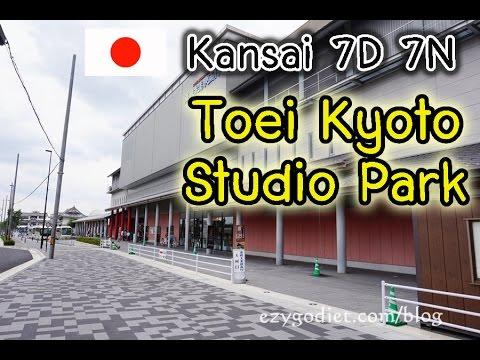 Kansai Day1(Ep12): Kyoto; Toei Anime Museum