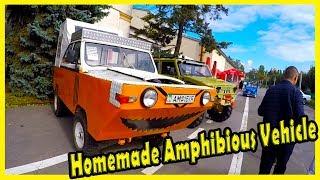 Unusual Amphibious Vehicle Homemade 2018. Strange Looking Cars Homemade 2018