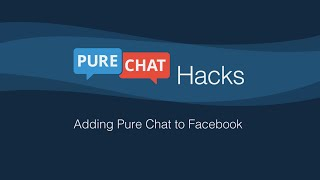 Add Live Chat to Your Company Facebook Page in 5 Minutes!