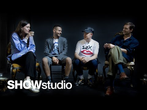 Raf Simons - Spring / Summer 2018 Panel Discussion