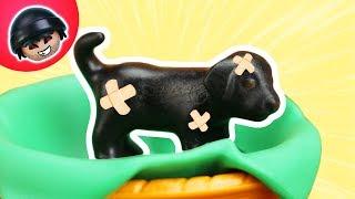 KARLCHEN KNACK - Sparkles muss zum Tierarzt! - Playmobil Polizei Film #56