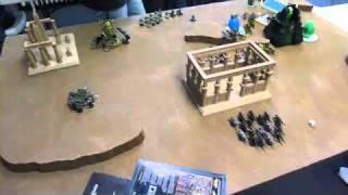 Tyranids Vs Necrons 1850 Game