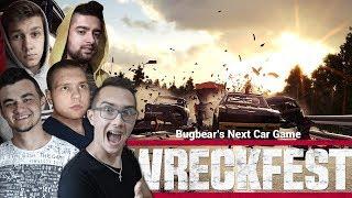 ☆Wreckfest Multiplayer - Next Car Game ☆Wielki Powrót & Odwrócone wyścigi z Ekipą ! ☆