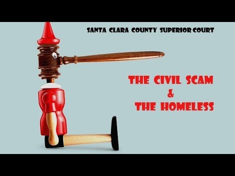 "Homeless women denied ""Due Process"" in Santa Clara County Courts"