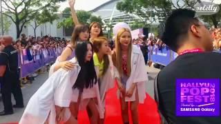 [180908] EXID Red Carpet at Hallyu Pop Festival @Singapore