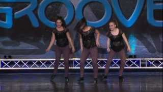Dance Dimensions - Senior Tap Trio 1st Place- Heart Cry - Groove Dance Competition, 2013