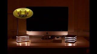 LED (светодиодный) светильник своими руками. Led Desk Lamp DIY
