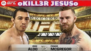 Jose Aldo Vs Conor McGregor Full Fight I EA Sports UFC 2014 I PS4 XBOX ONE