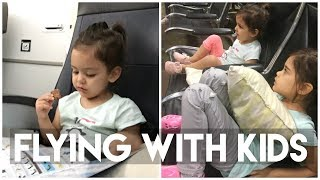 Flying with Kids: Airplane Tips for a better flight