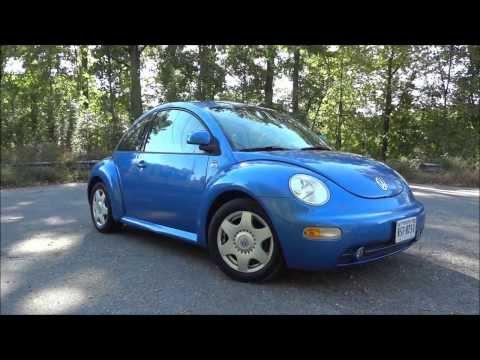 1999 Volkswagen Beetle 2.0 GLS Walkaround, Start Up, Tour And Test Drive