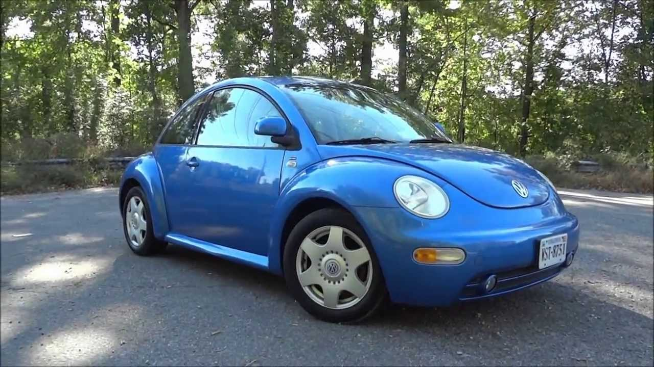 small resolution of 1999 volkswagen beetle 2 0 gls walkaround start up tour and test drive youtube