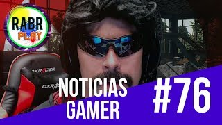 Noticias Gaming #76 BLACKOUT - ZONE OF THE ENDERS - INSURGENCY - DR. DISRESPECT