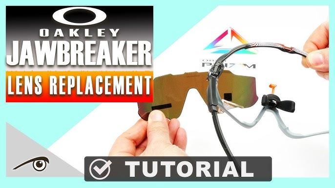 49687d67590 How to change lens in Oakley Jawbreaker sunglasses