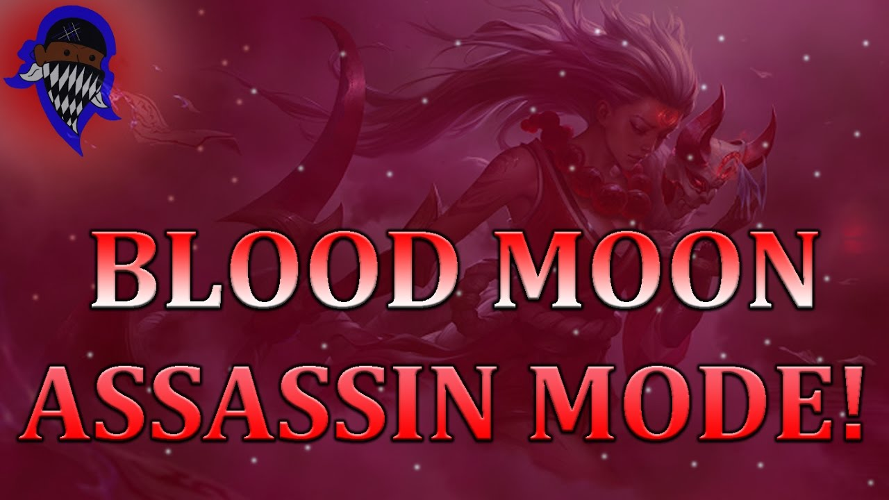 Blood Moon Talon: Blood Moon Diana Jhin Talon Twisted Fate Skins And Hunt Of