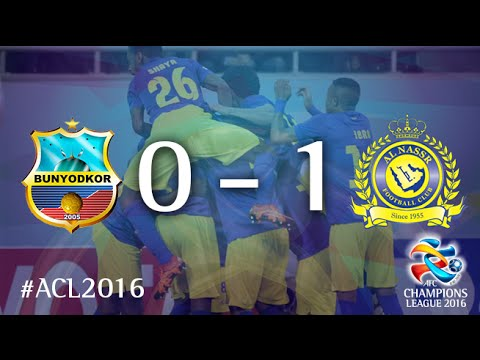 BUNYODKOR vs AL NASSR: AFC Champions League 2016 (Group Stage)