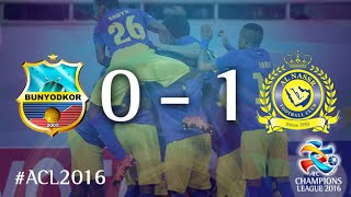 BUNYODKOR vs AL NASSR: AFC Champions League 2016 (Group Stage) 2017 Video